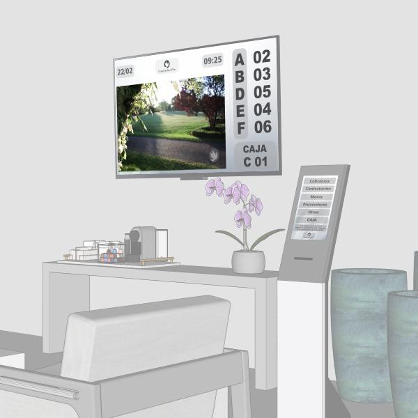 Sistema de turnos para administrar la espera en su atención a clientes